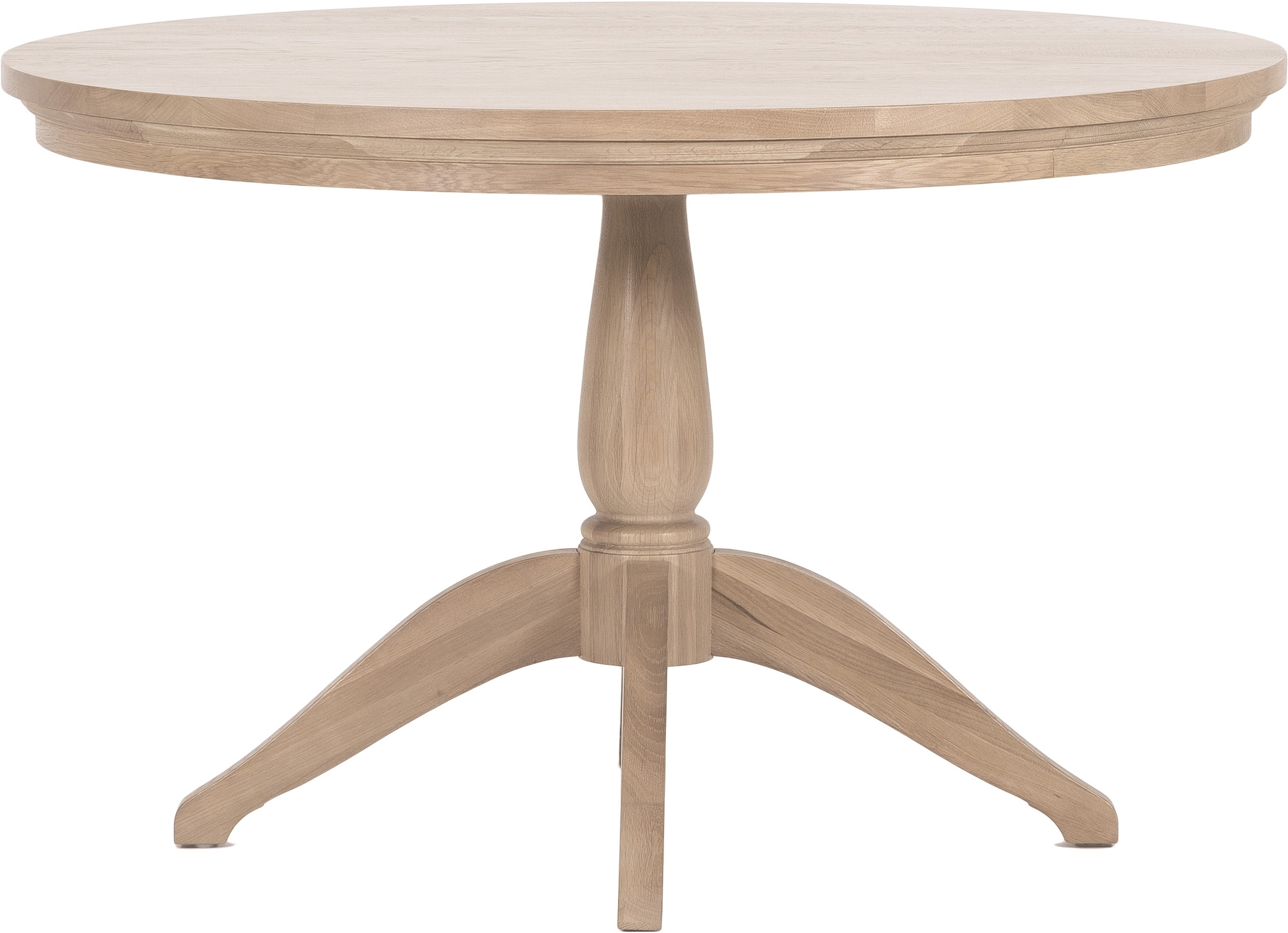 Well Known Circular Oak Dining Tables Within Henley Circular Oak Dining Table Uk (View 22 of 25)