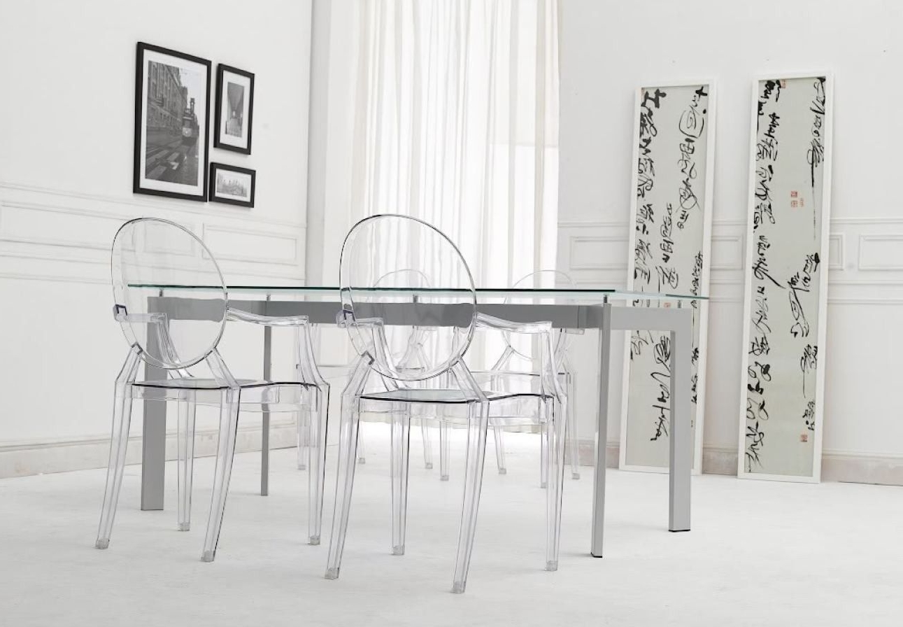 Well Known Clear Plastic Dining Tables Throughout 2018 Clear Plastic Dining Table And Chairs – Modern Furniture Cheap (View 2 of 25)
