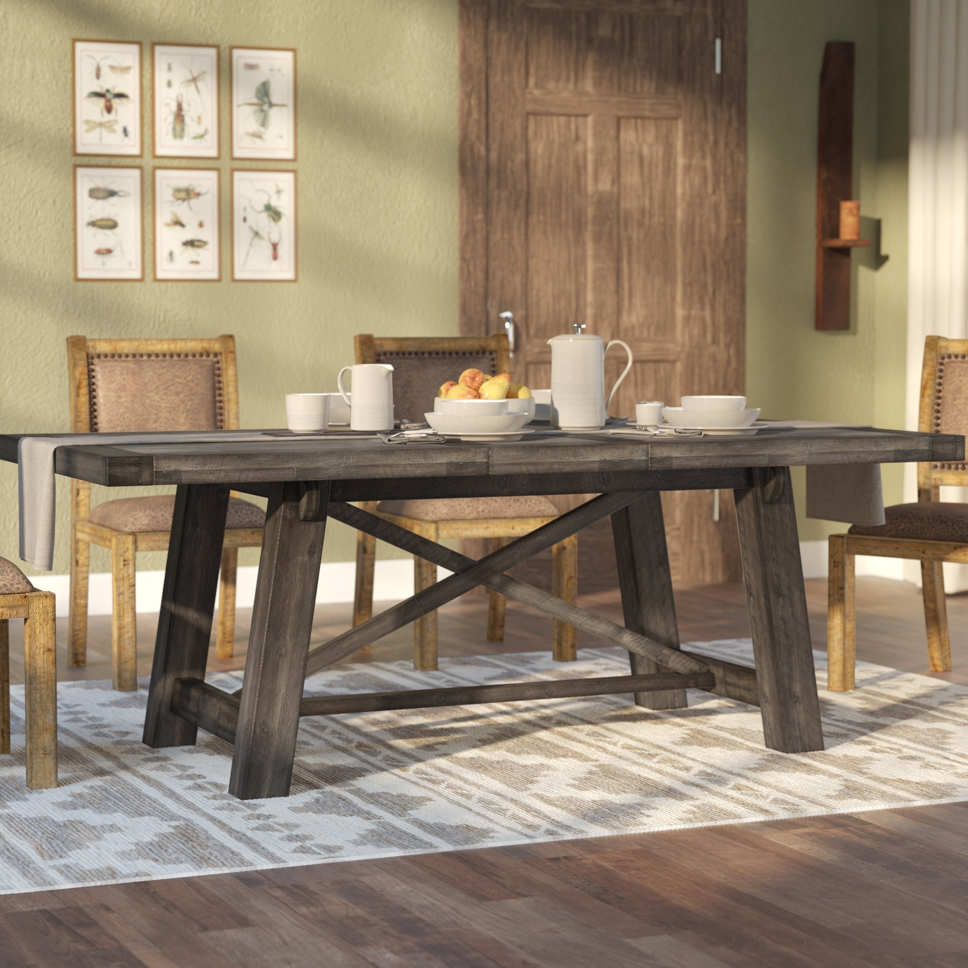 Well Known Colborne Extendable Dining Table Intended For Extendable Dining Sets (View 7 of 25)