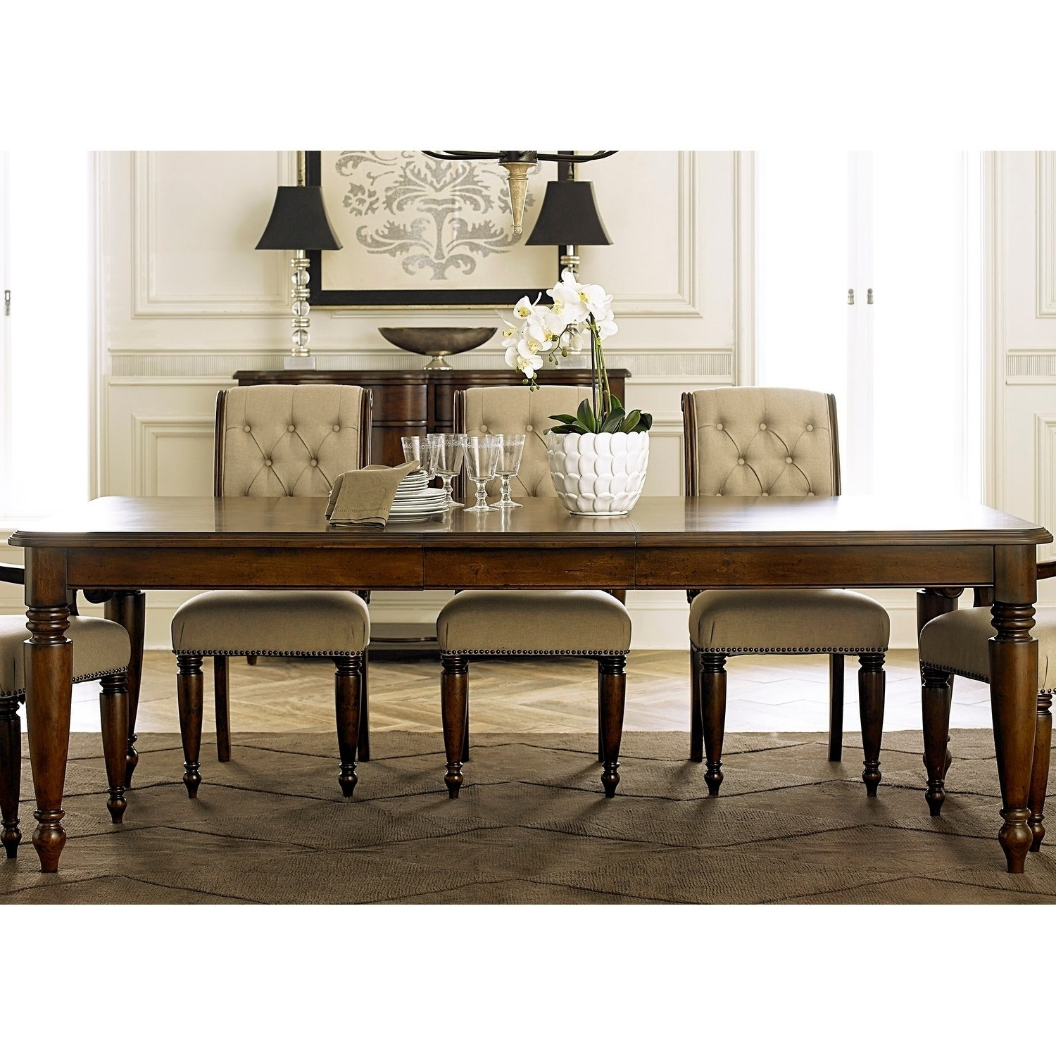 Well Known Cotswold Cinnamon 7 Piece Rectangular Dining Table Set Throughout Cotswold Dining Tables (View 2 of 25)
