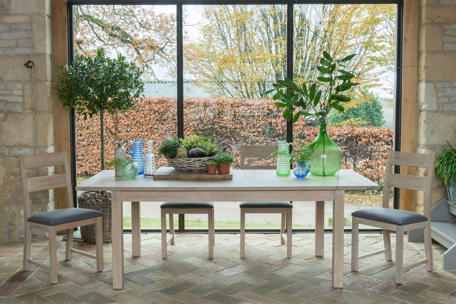 Well Known Cotswold Dining Tables For Cotswold Oak Large Extending Dining Table (View 19 of 25)