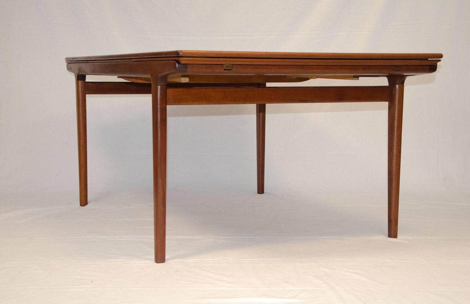 Well Known Danish Style Dining Tables With Regard To Danish Teak Dining Table, Johannes Andersen At 1Stdibs (View 22 of 25)