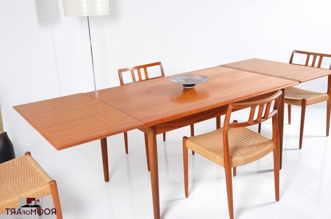 Well Known Danish Teak Dining Table – Room Of Art With Danish Dining Tables (View 9 of 25)