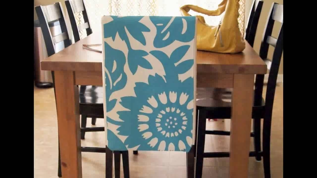 Well Known Dining Room Chair Covers (View 23 of 25)