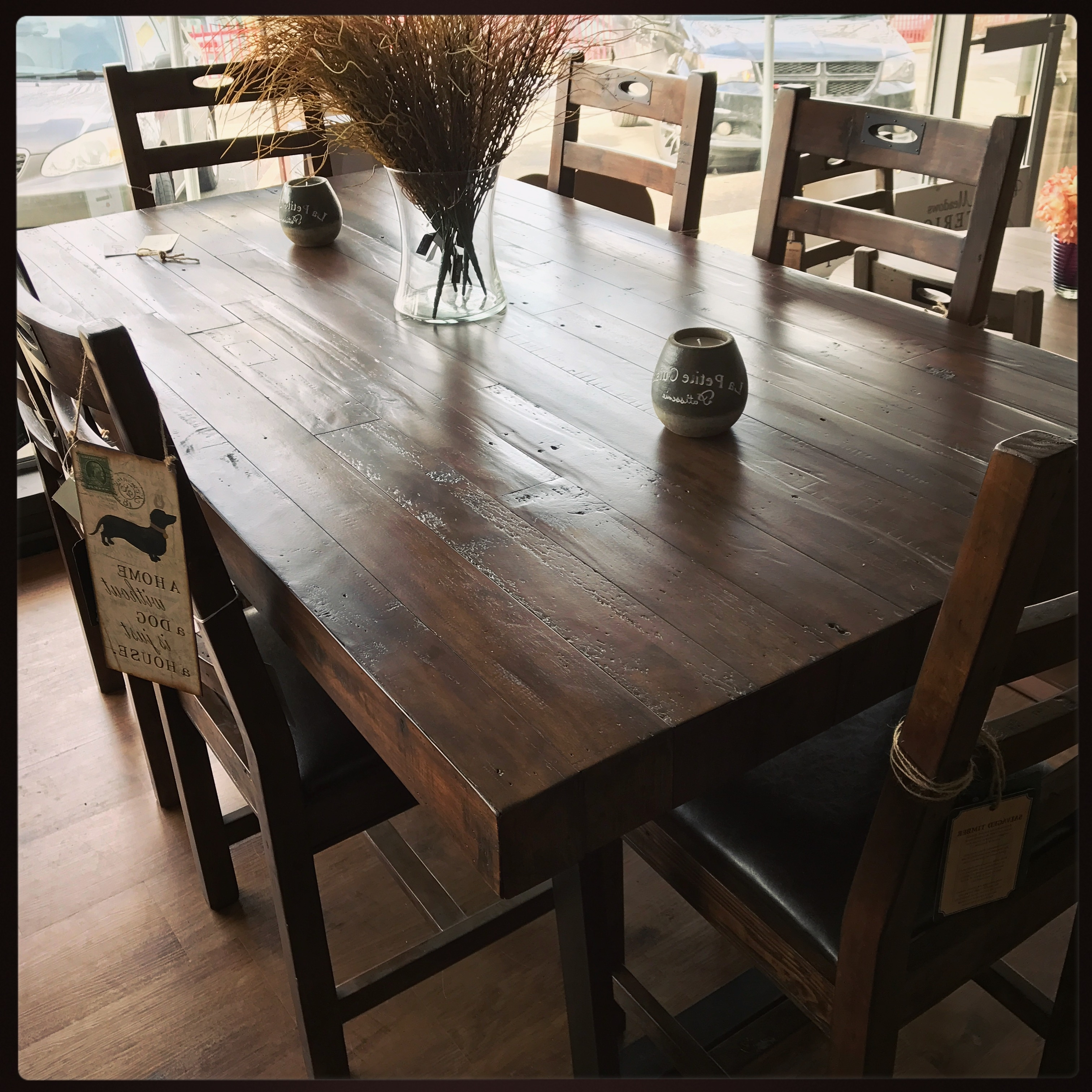 Well Known Dining Tables • Blueberry Meadows Interiors Throughout Market Dining Tables (View 19 of 25)