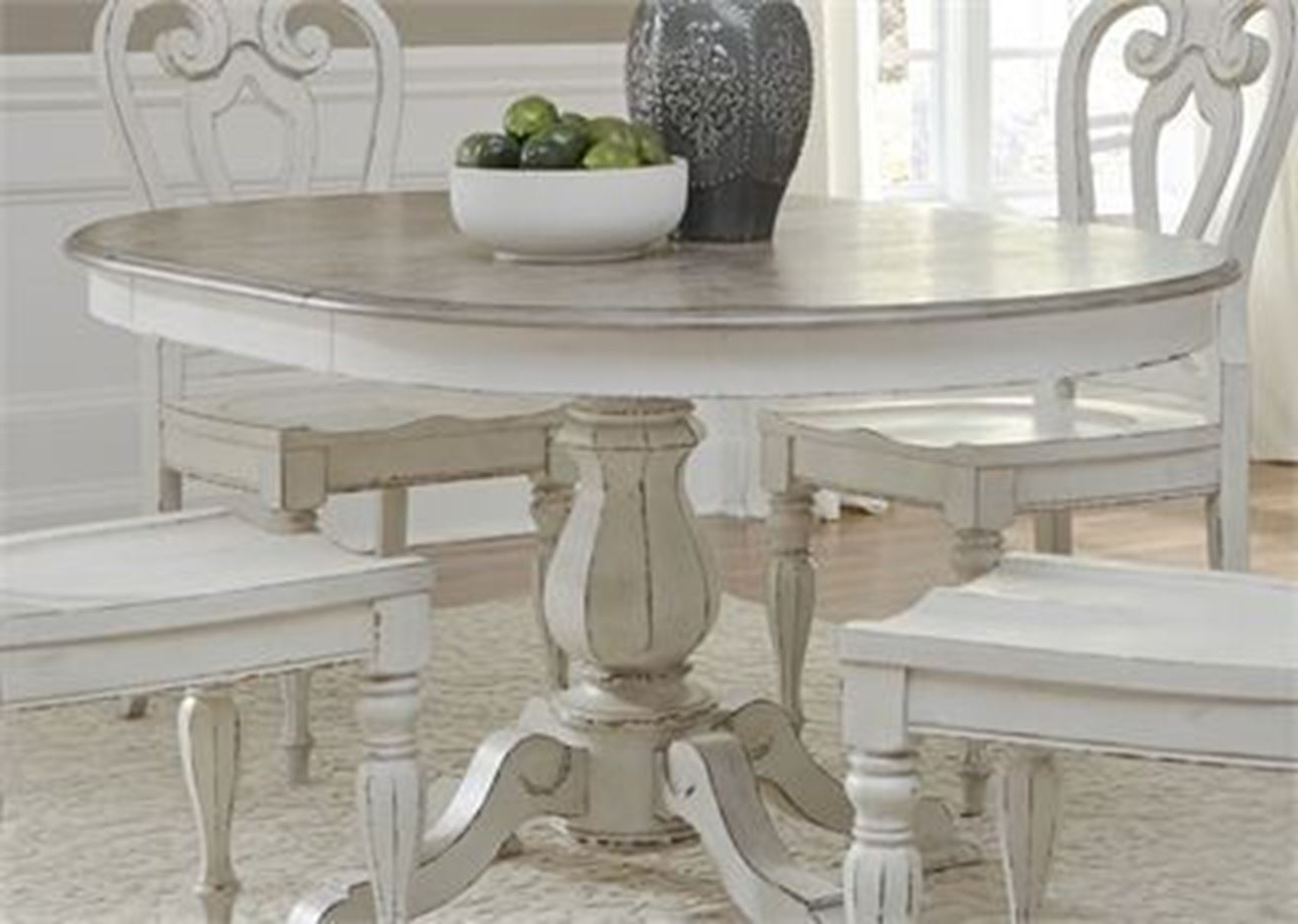 Well Known Dining Tables Within Magnolia Manor Pedestal Dining Table – Woodstock Furniture (View 25 of 25)