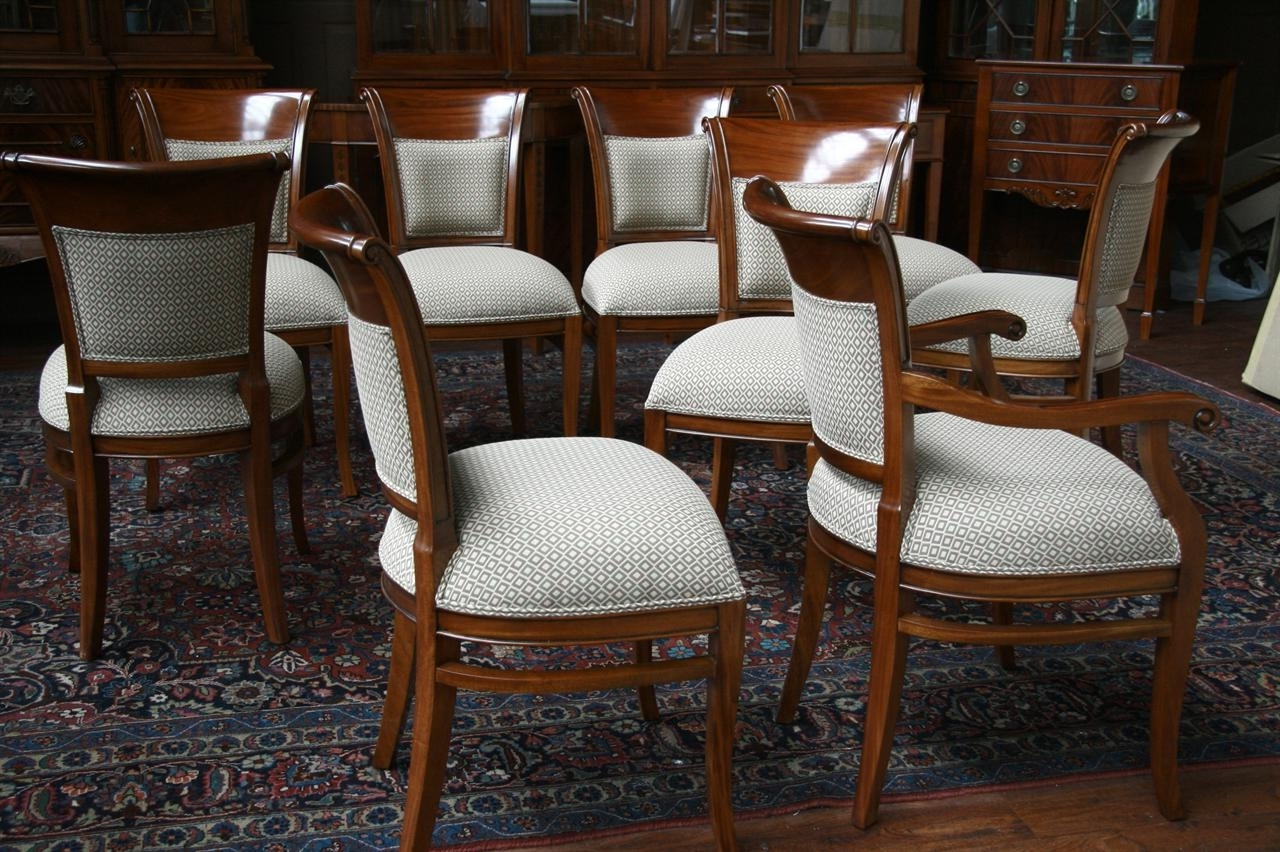 Well Known Ebay Dining Chairs In Mahogany Dining Room Chairs With Upholstered Back Ebay Solid Oak (View 22 of 25)