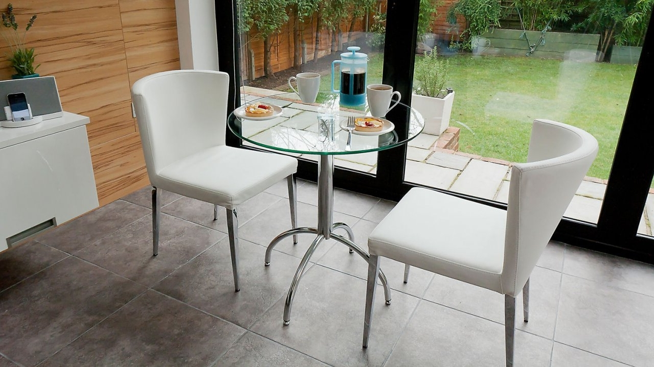 Well Known Elegant 2 Seater Dining Table Set On Kitchen Table For Two Small Inside Two Seater Dining Tables (View 9 of 25)