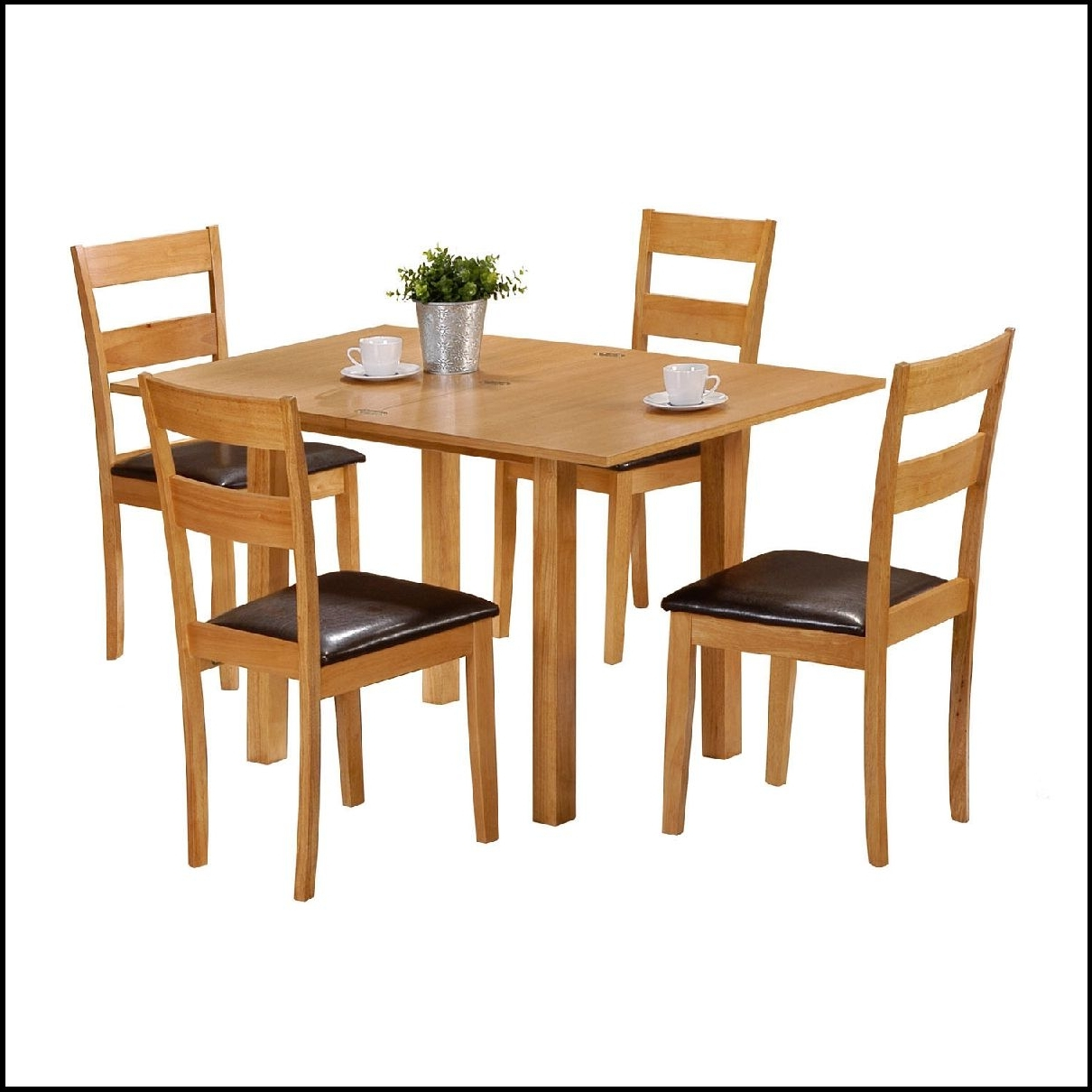 Well Known Extendable Dining Tables And 4 Chairs Inside Modern Simple Extendable Dining Table Set Sushi Decor Making A With (View 18 of 25)
