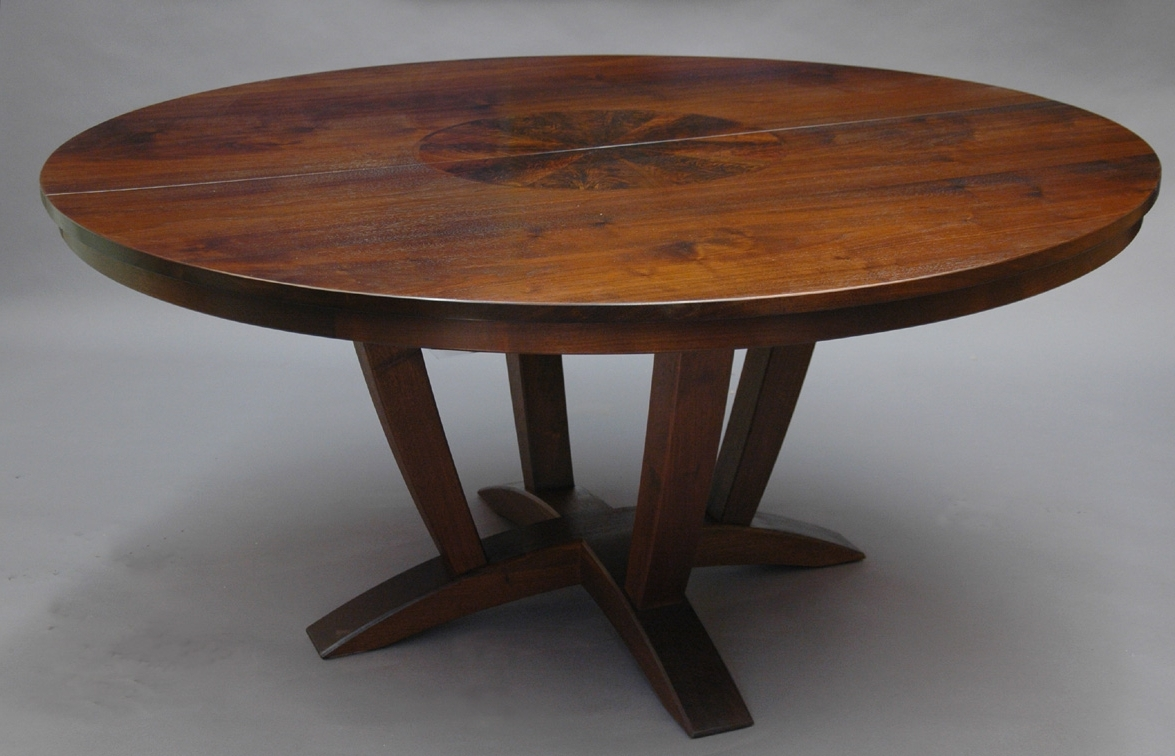 Well Known Extendable Round Dining Tables Intended For Dining Table: Stunning Picture Of Furniture For Small Dining Room (View 11 of 25)