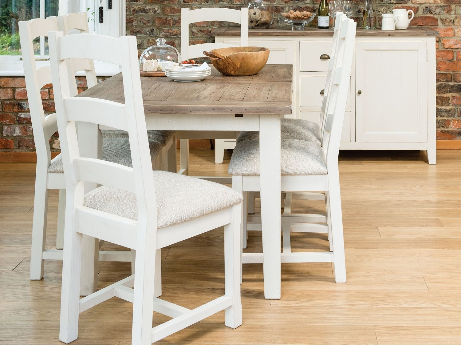 Well Known French Extending Dining Tables Regarding French Country 140Cm Extending Dining Table From Dansk (View 8 of 25)
