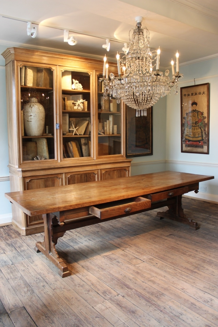 Well Known French Farmhouse Dining Tables Within Superb 19Th Century French Farmhouse Dining Table – Furniture (View 4 of 25)