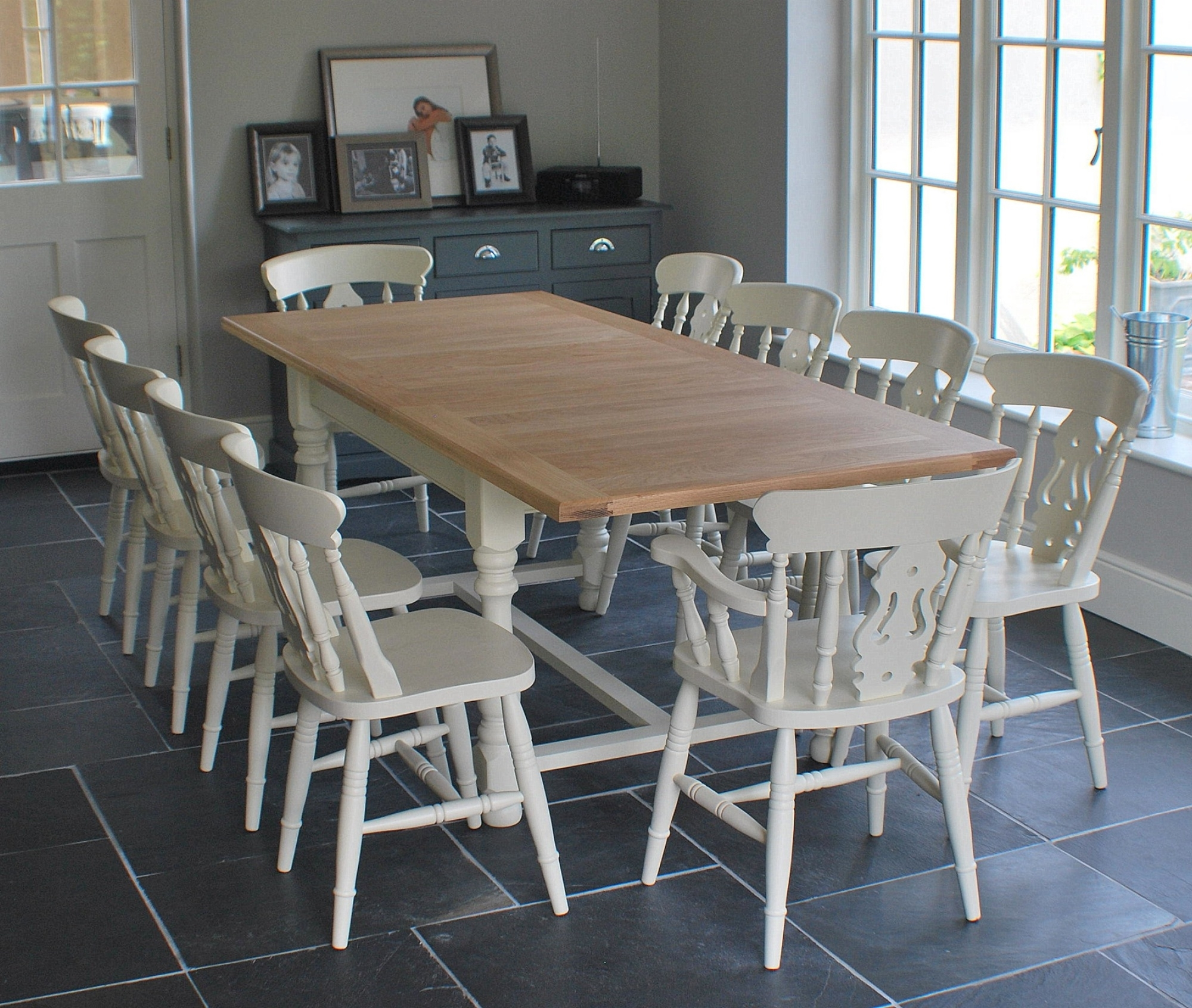 Well Known Green Dining Tables For Village Green Dining Tables (View 23 of 25)