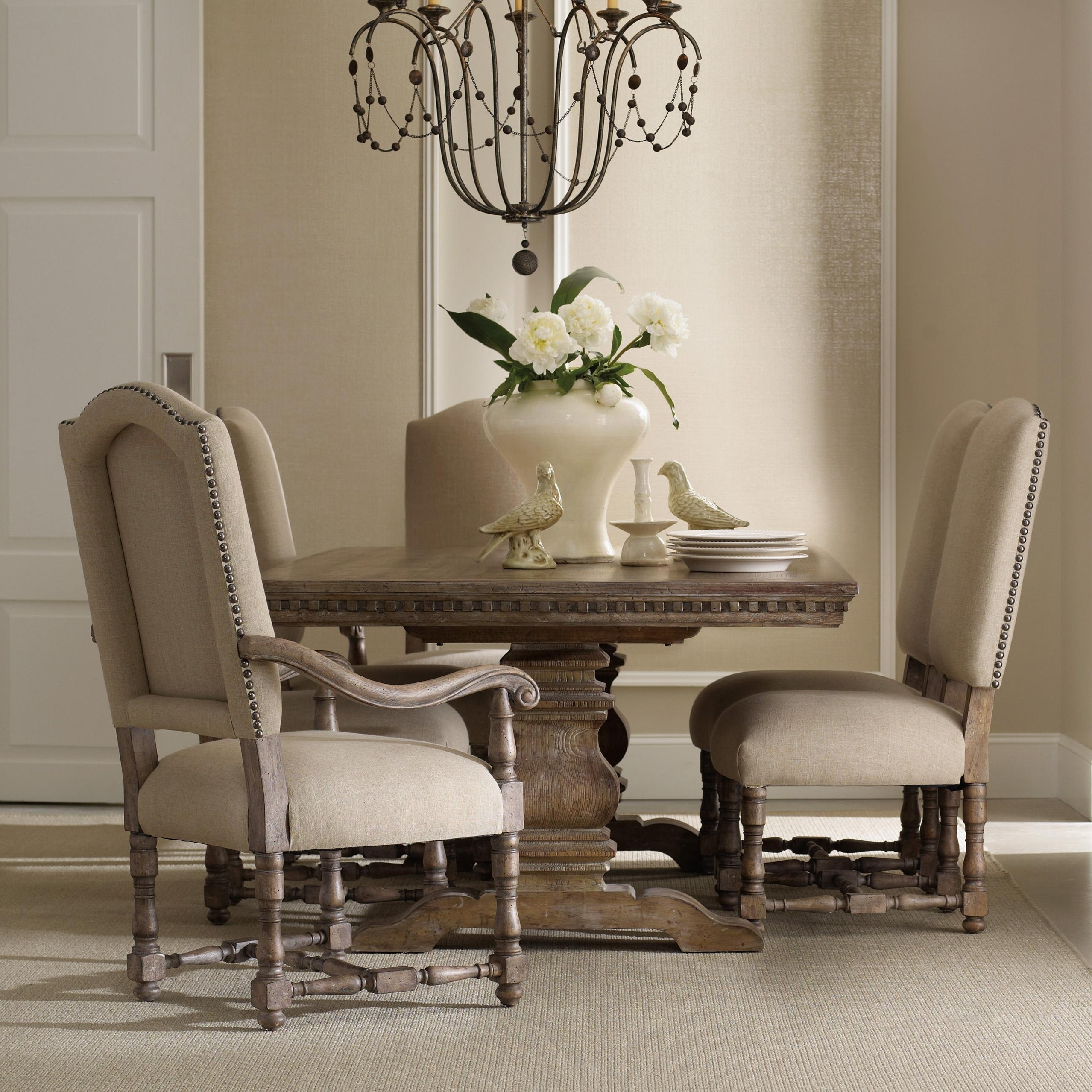Well Known Hamilton Dining Tables Inside Hamilton Home Sorella Formal Dining Set With Rectangular Table (View 12 of 25)
