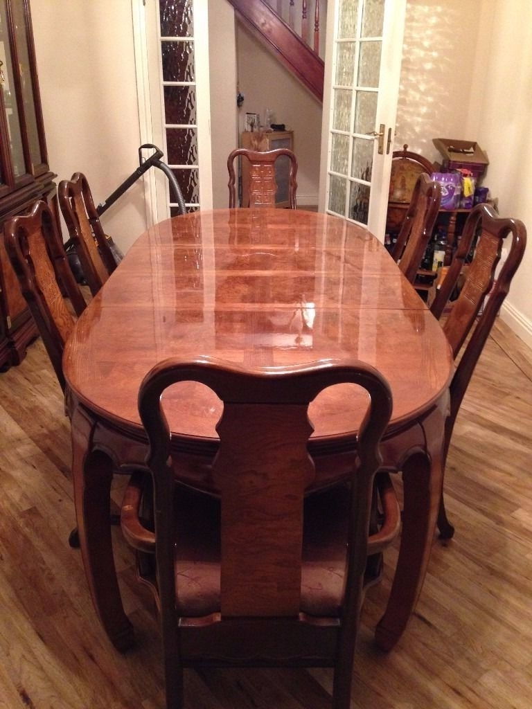 Well Known Imperial Dining Tables Inside Imperial Dynasty Dining Table And 6 Chairs (View 23 of 25)