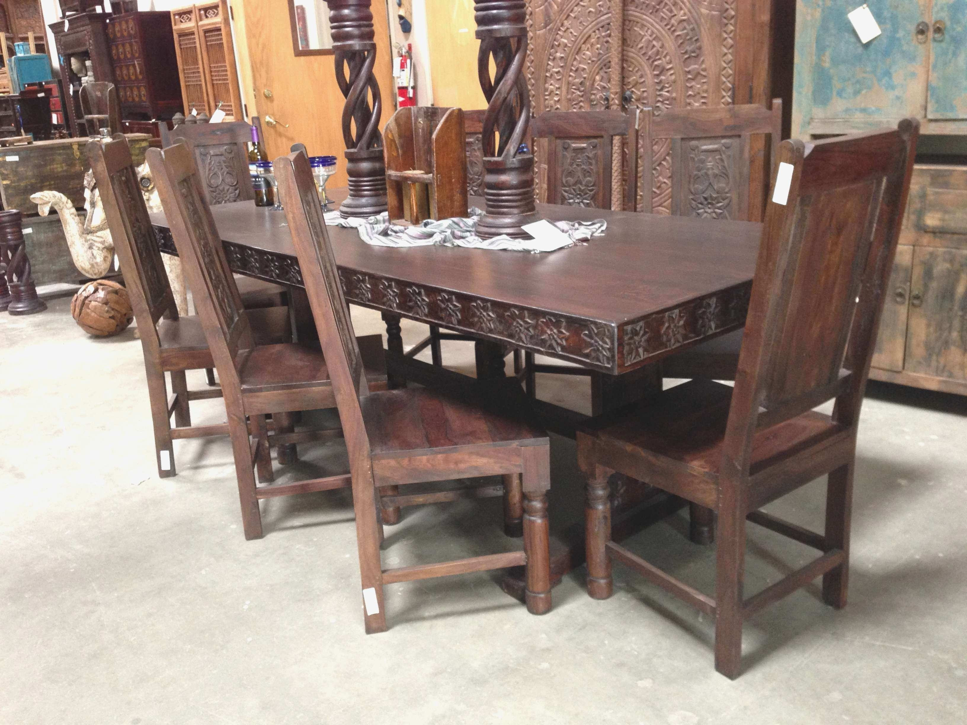 Well Known Indian Dining Room Furniture Beautiful Wood Dining Tables In San Pertaining To Indian Dining Tables (View 16 of 25)