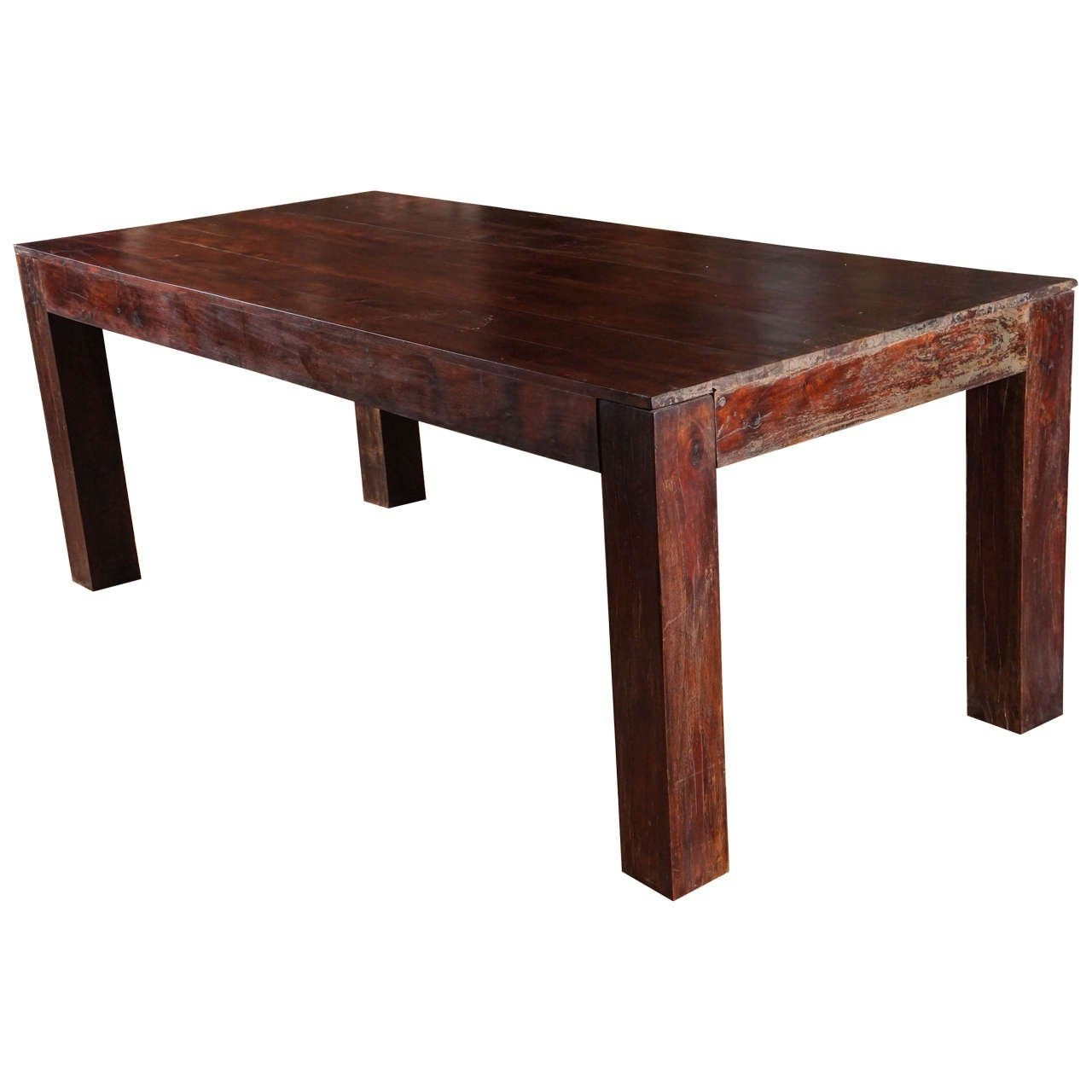 Well Known Indian Dining Tables Within India Dining Table Sheesham Indian Rosewood Dining Table Ca 1950S At (View 24 of 25)