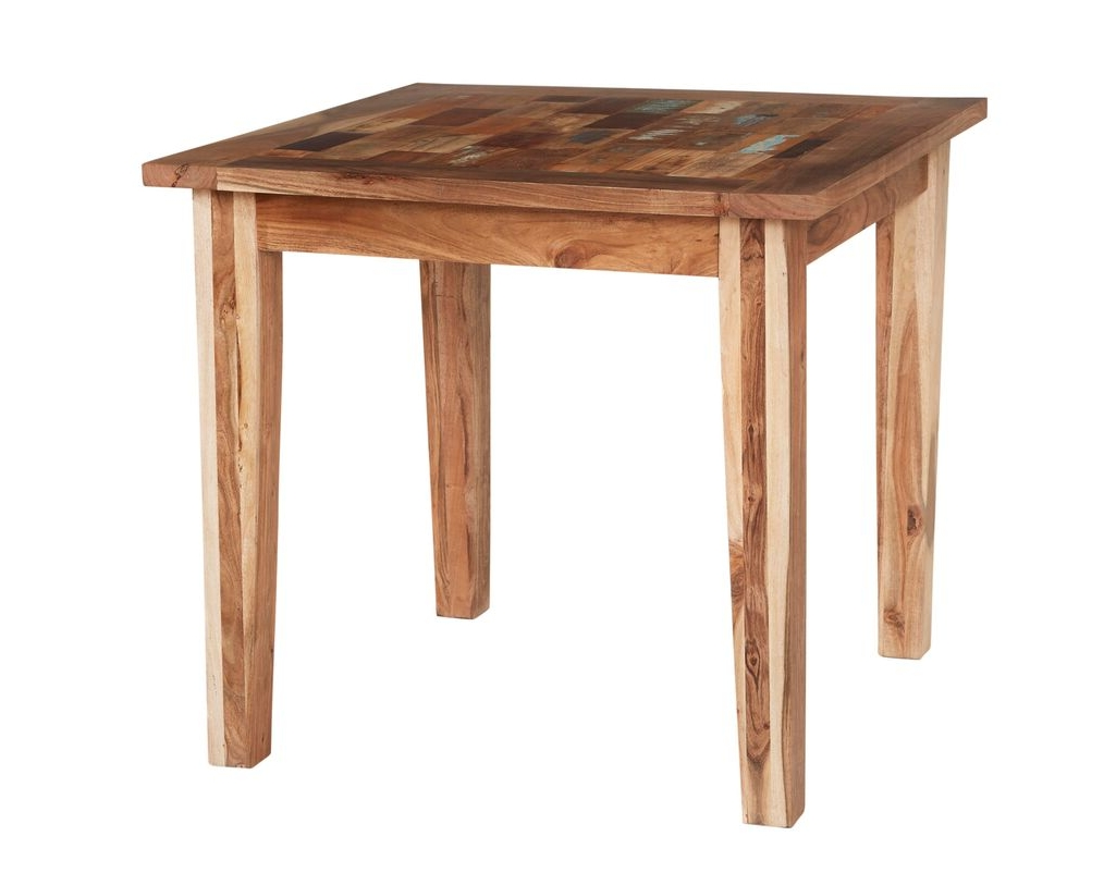 Well Known Indian Hub Coastal Reclaimed Wood Small Dining Table From The Bed Regarding Indian Dining Tables (View 23 of 25)
