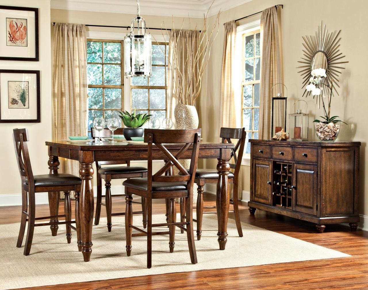 Well Known Kingston Dining Tables And Chairs Within Intercon Kingston Collection Dining Room Gathering Table Kg Ta 5454G (View 7 of 25)