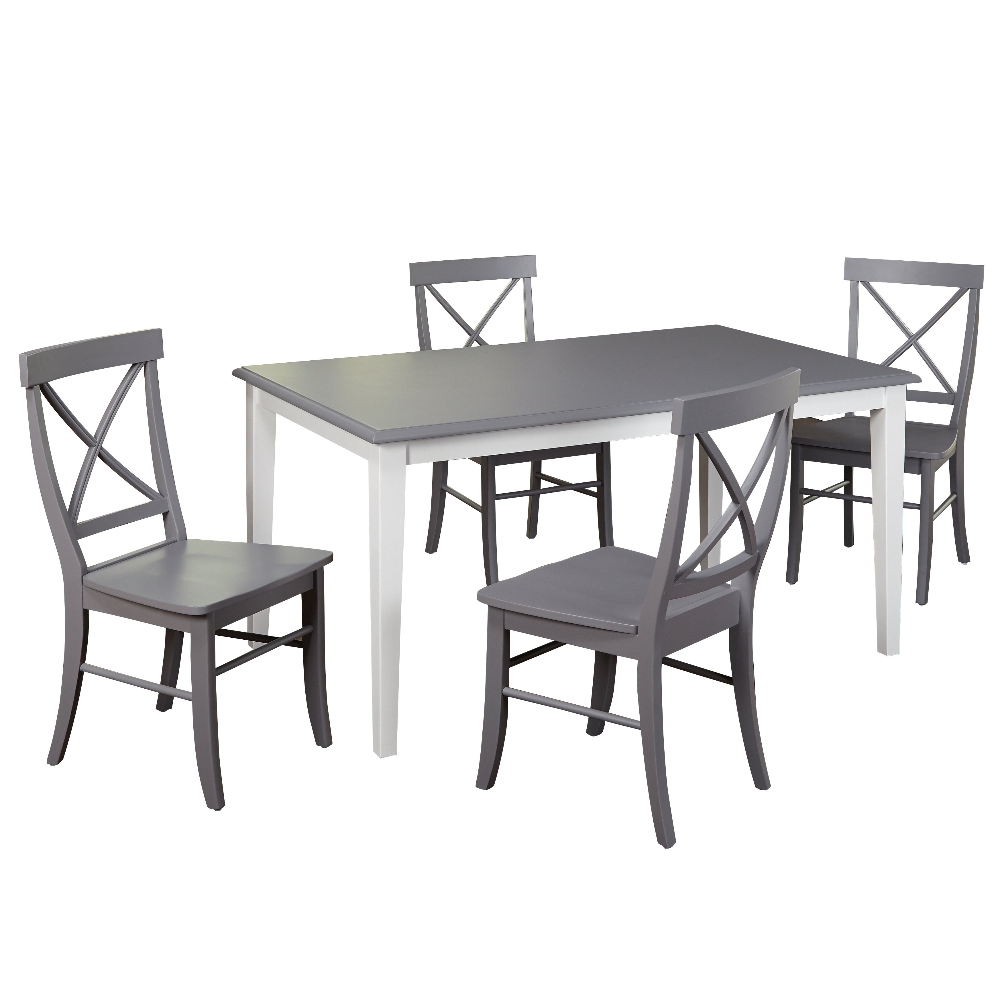 Well Known Kirsten 6 Piece Dining Sets Within Beachcrest Home Lehigh Acres 5 Piece Dining Set & Reviews (View 9 of 25)