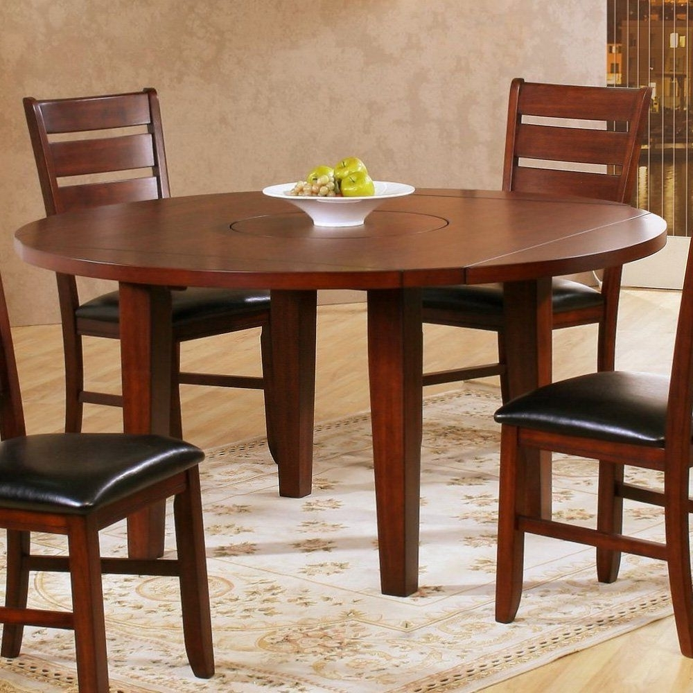 Well Known Lassen 5 Piece Round Dining Sets With Amazon – Homelegance Ameillia 60 Inch Round Dining Table (View 24 of 25)