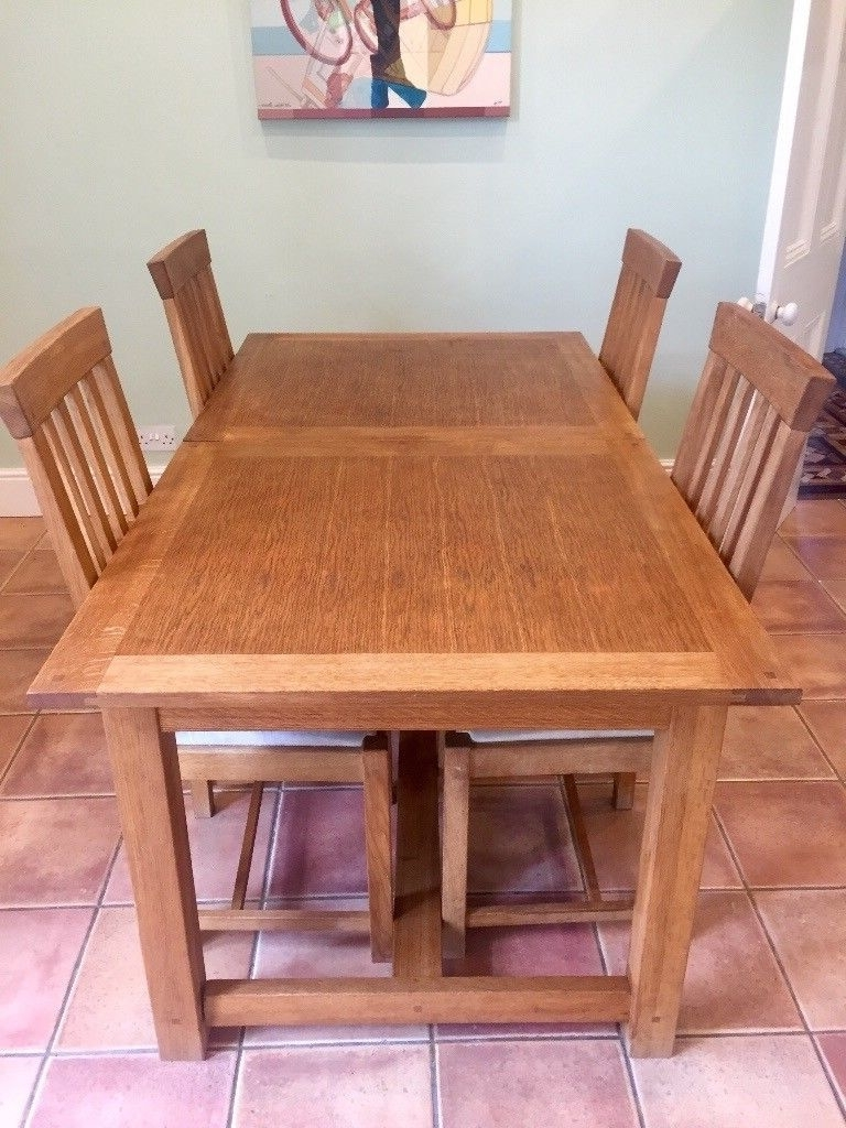 Well Known Laura Ashley Table And Chairs – Milton Oak Extending Dining Table Intended For Oak Extendable Dining Tables And Chairs (View 22 of 25)