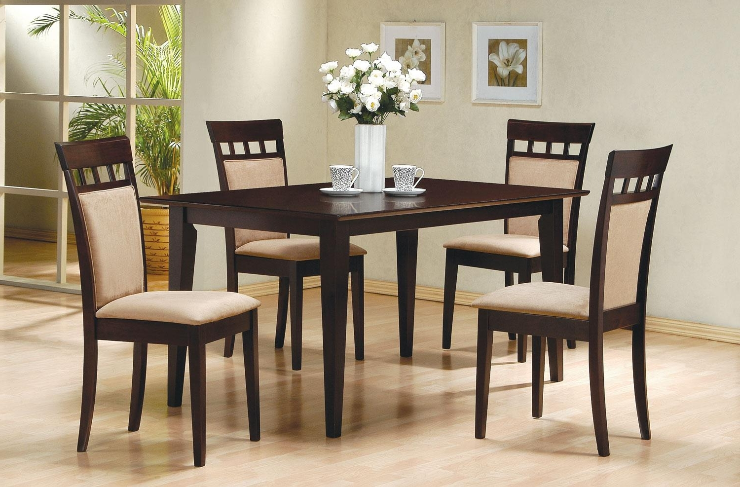 Well Known Market 7 Piece Dining Sets With Side Chairs Inside Dining Sets (View 22 of 25)