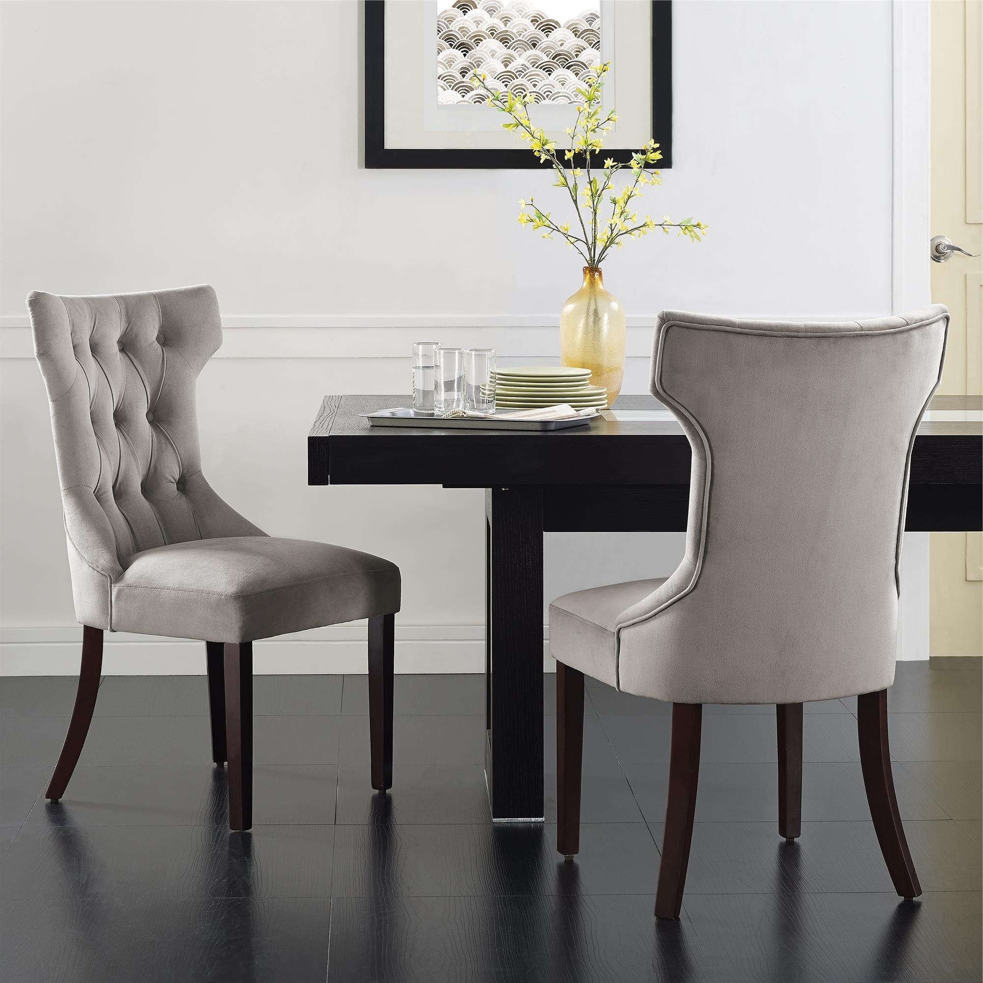 Well Known Market 7 Piece Dining Sets With Side Chairs Regarding Dorel Living (View 23 of 25)