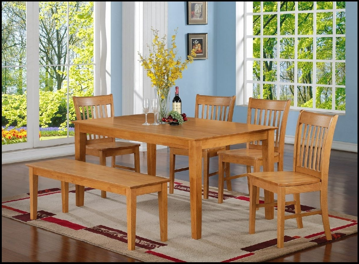 Well Known Modern Oak Kitchen Table Ideas The New Way Home Decor With Light Within Light Oak Dining Tables And Chairs (View 25 of 25)