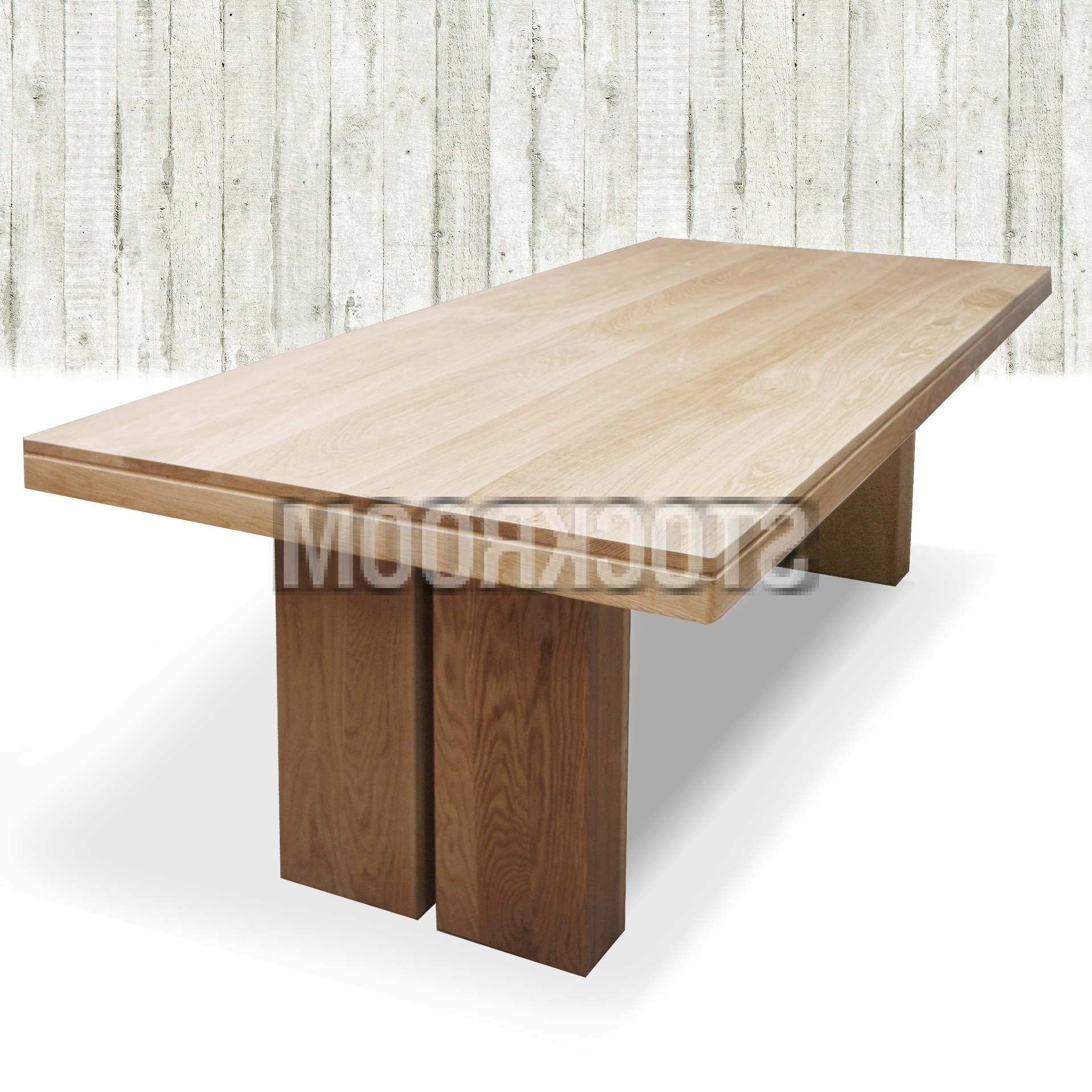 Well Known Noah Dining Tables Inside Noah Solid Oak Wood Dining Table : Stockroom Hong Kong Contemporary (View 5 of 25)