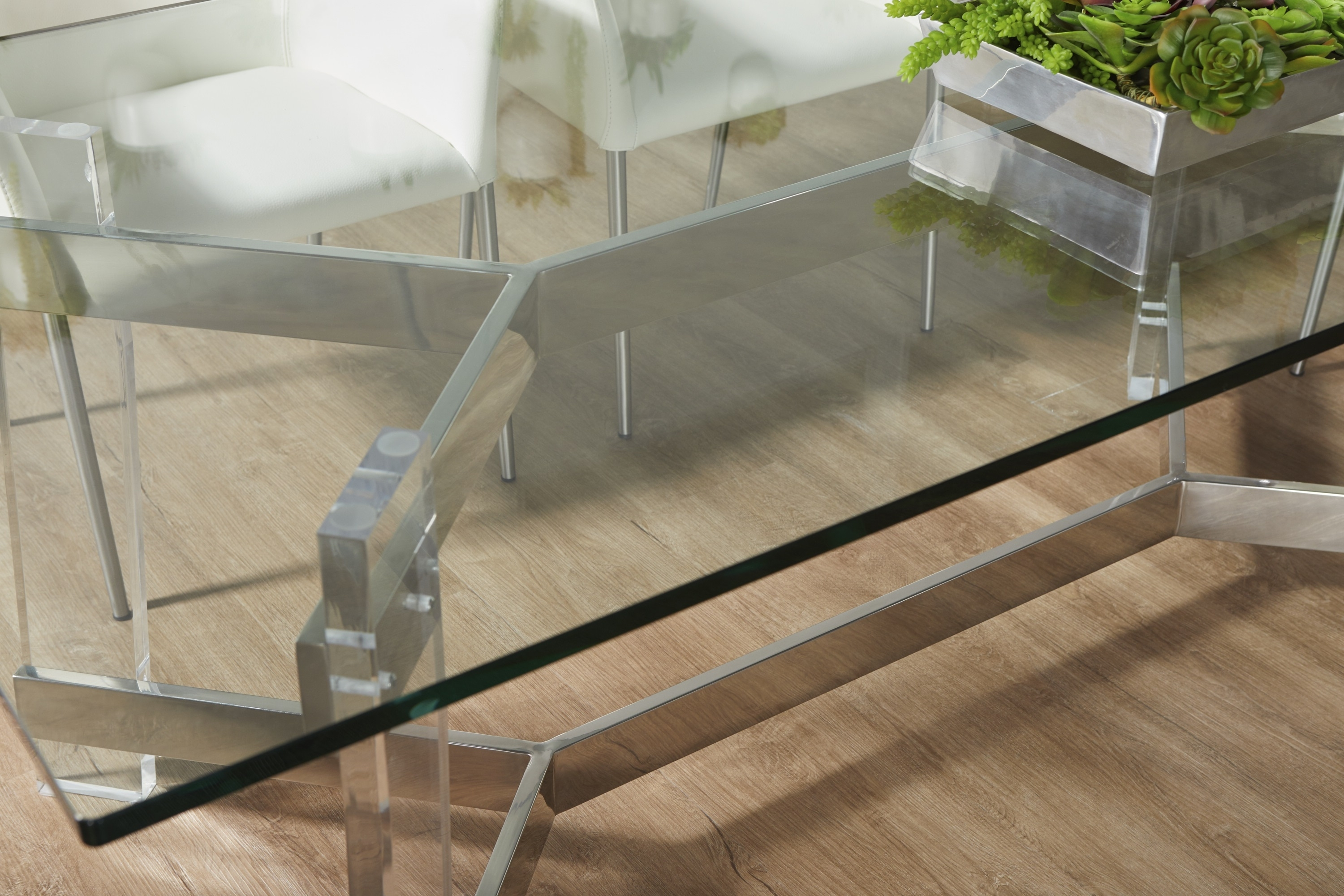 Well Known Nora Dining Tables Regarding Nora Rectangle Dining Table Base (View 21 of 25)