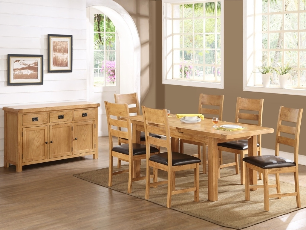 Well Known Oak Dining Tables And Chairs – Cooks Furnishings, Carpets And For Oak Dining Suites (View 3 of 25)