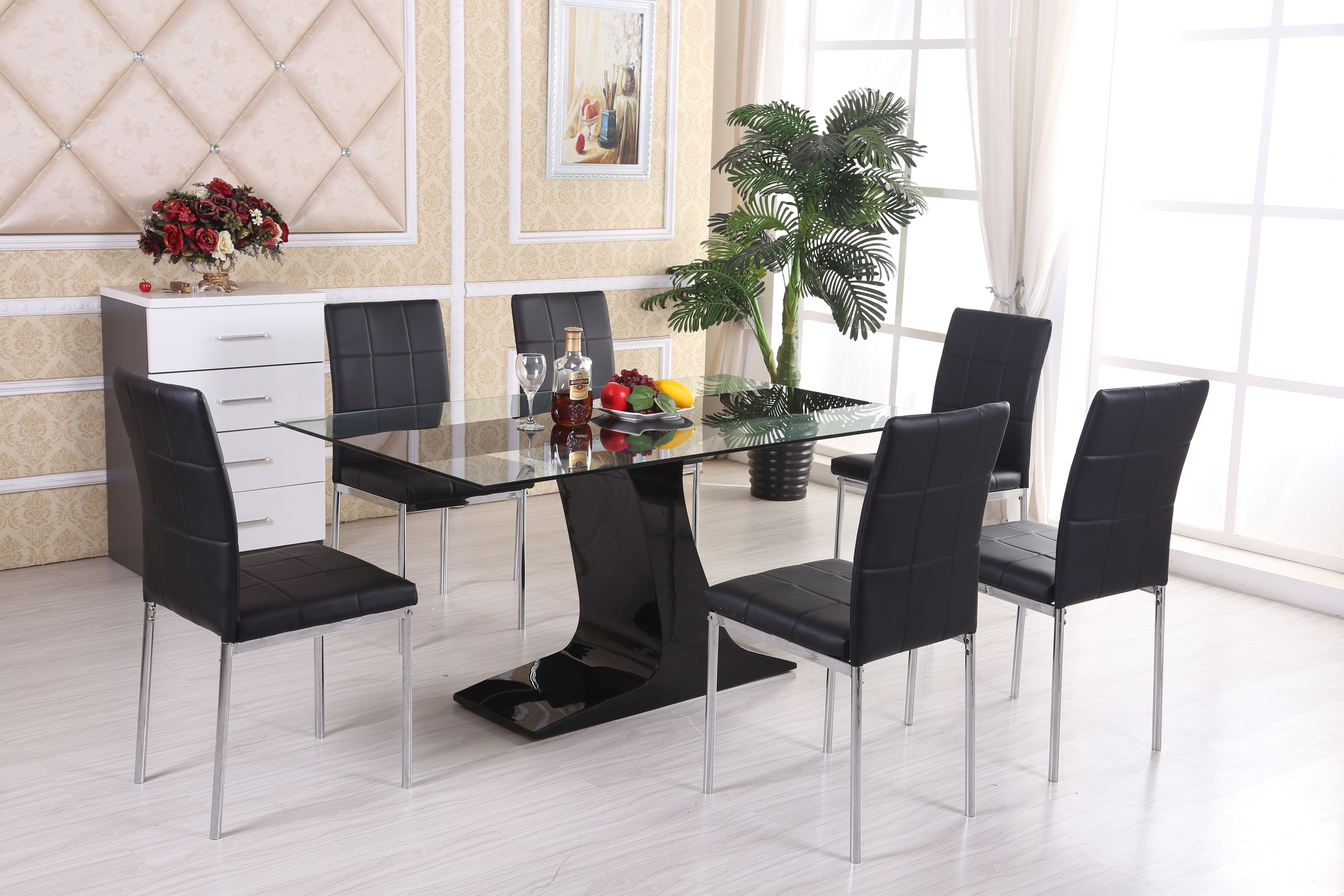 Well Known Oval Marble Top Dining Table Tags : Modern Dining Table Round Dining With 6 Seater Glass Dining Table Sets (View 24 of 25)