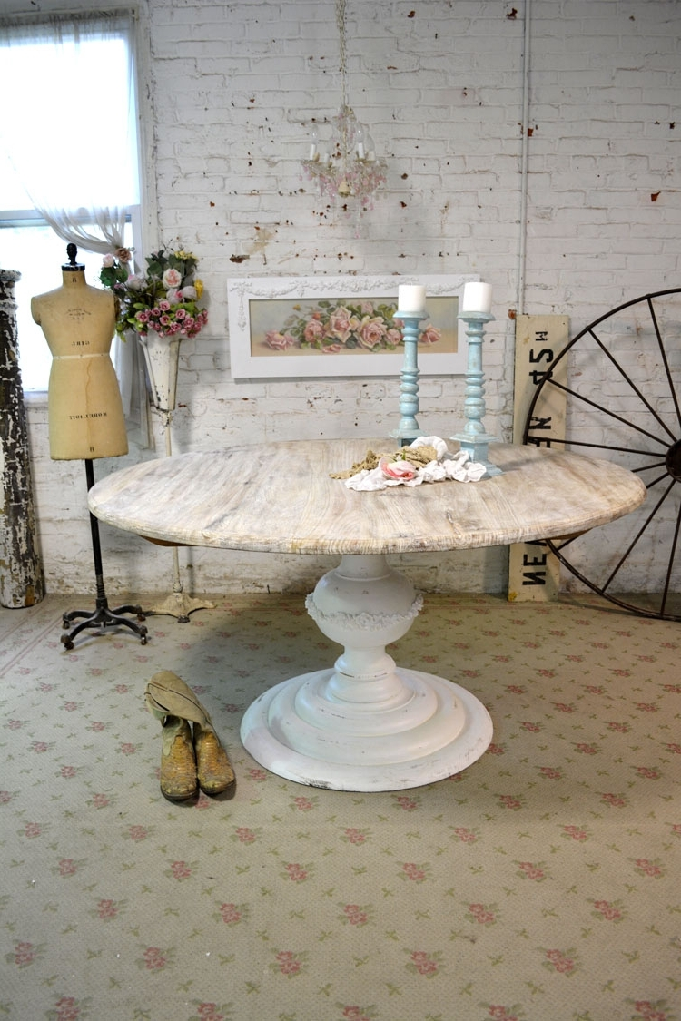 Well Known Painted Cottage Dining Table For French Farmhouse Dining Tables (View 24 of 25)