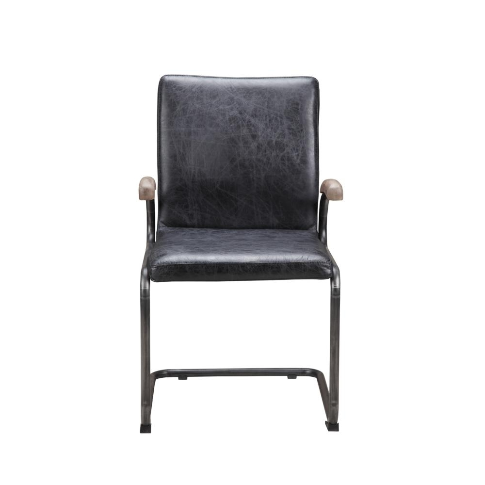 Well Known Perth White Dining Chairs Throughout Perth Arm Chair Antique Black – More Decor (View 22 of 25)