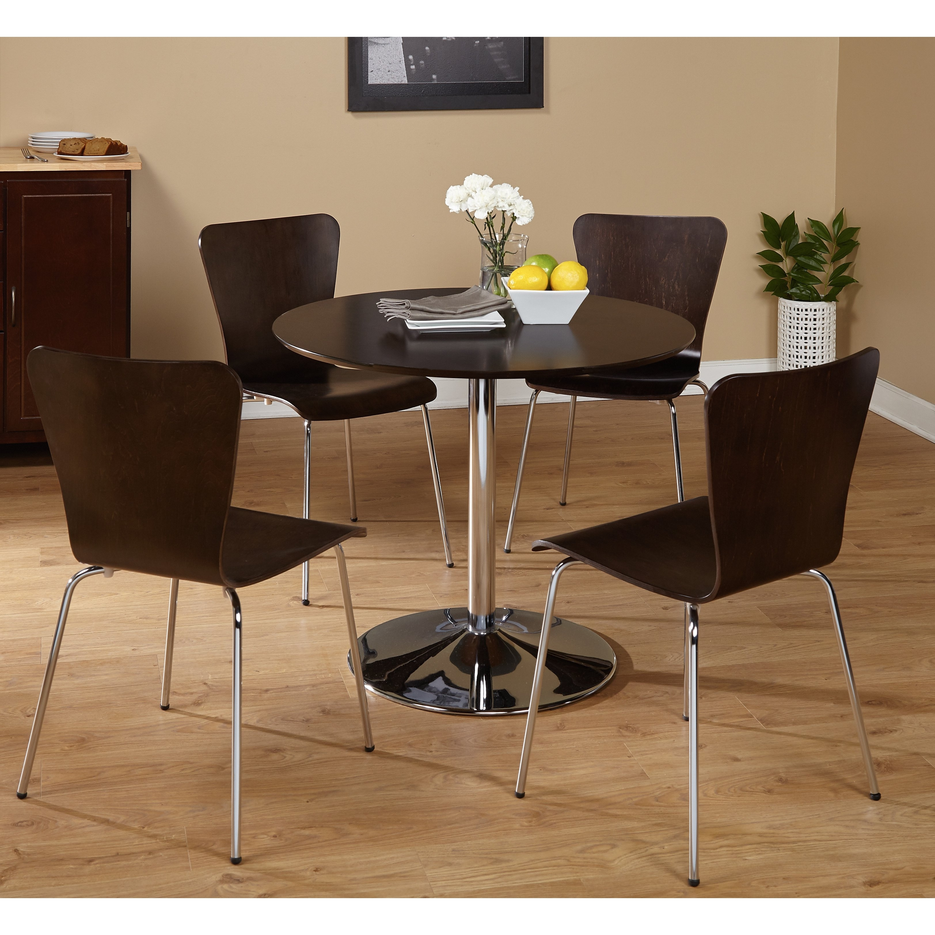 Well Known Pisa Dining Tables Within Shop Five Piece Pisa Dining Set – Free Shipping Today – Overstock (View 6 of 25)