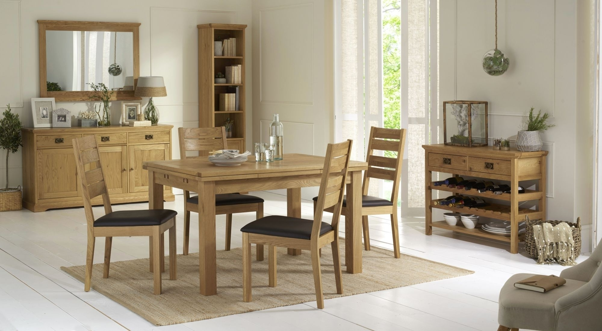 Well Known Provence Dining Tables Regarding Provence Oak 4 6 Seater Dining Table – Style Our Home (View 21 of 25)