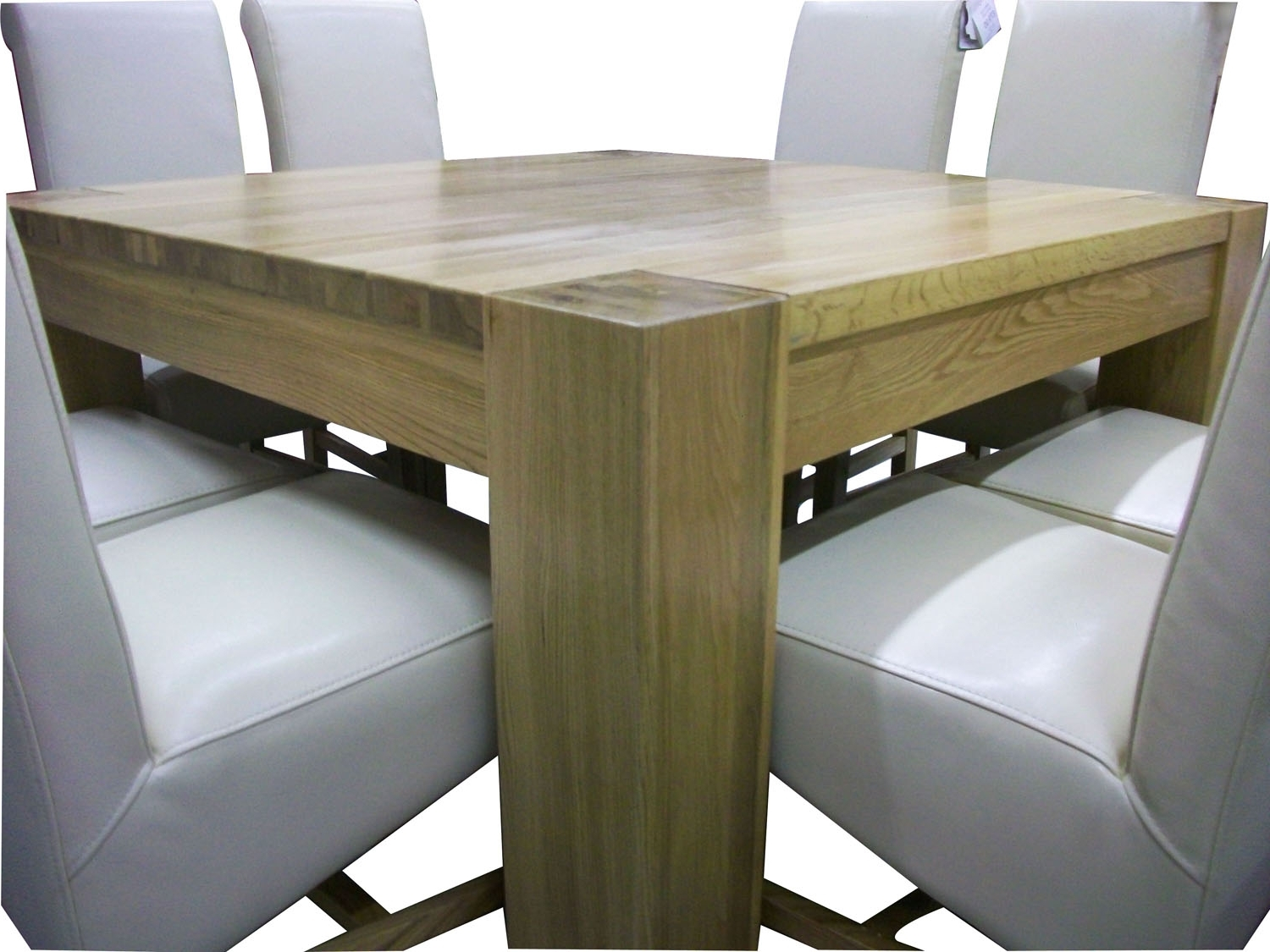 Well Known R895 – Solid Oak Square Dining Table With Regard To Square Oak Dining Tables (View 17 of 25)