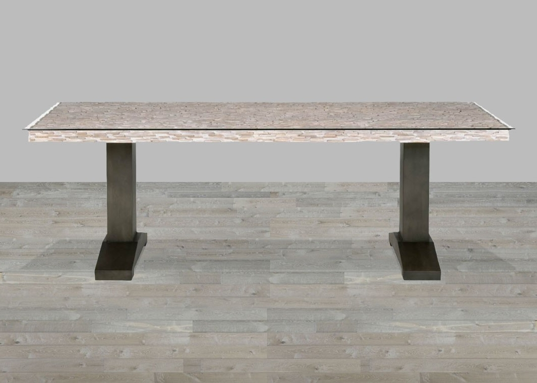 Well Known Reclaimed Wood Dining Table Uneven Top Within Cheap Reclaimed Wood Dining Tables (View 20 of 25)