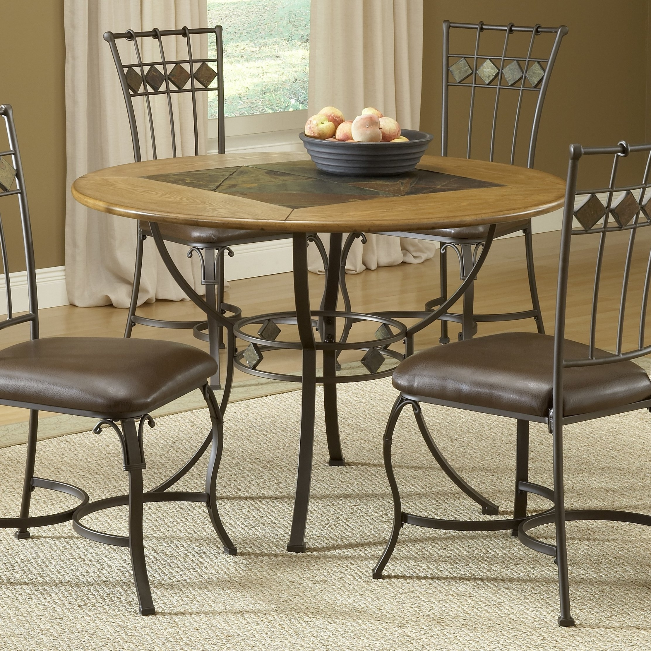 Well Known Red Barrel Studio Shiflett 5 Piece Dining Set & Reviews (View 3 of 25)