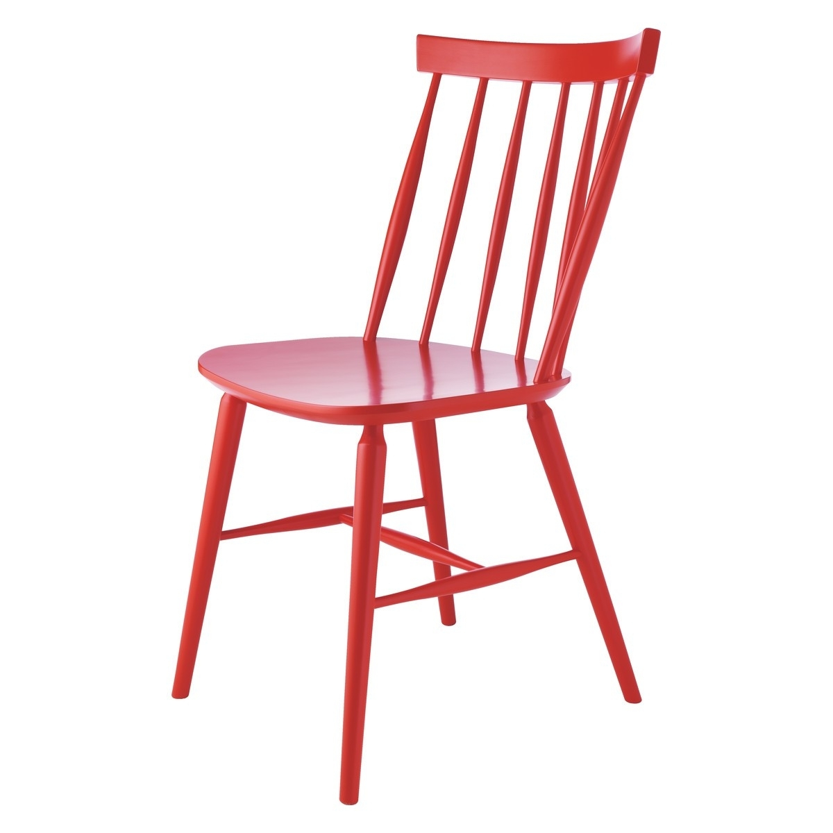Well Known Red Dining Chairs Throughout Talia Red Spindle Back Dining Chair (View 23 of 25)