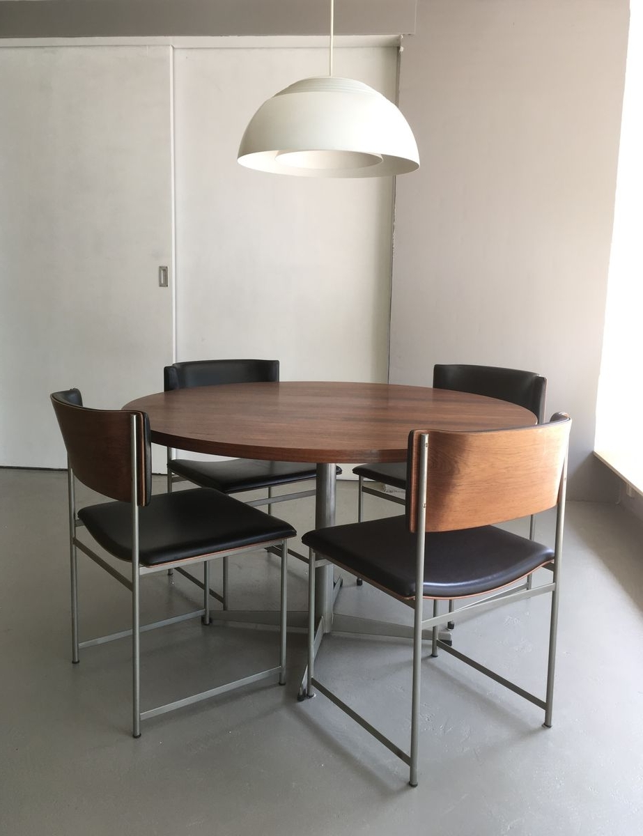 Well Known Rio Rosewood Dining Setcees Braakman For Pastoe, 1960S For Sale For Rio Dining Tables (View 24 of 25)