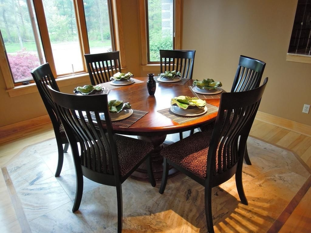Well Known Round Dining Table Set For 6 – Castrophotos For 6 Seat Round Dining Tables (View 2 of 25)