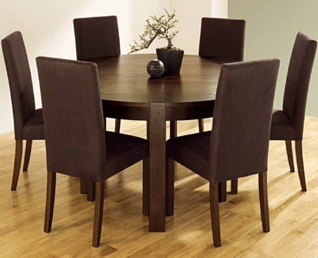 Well Known Round Kitchen Table With 6 Chairs – Kitchen Table Gallery 2017 Pertaining To 6 Chair Dining Table Sets (View 24 of 25)
