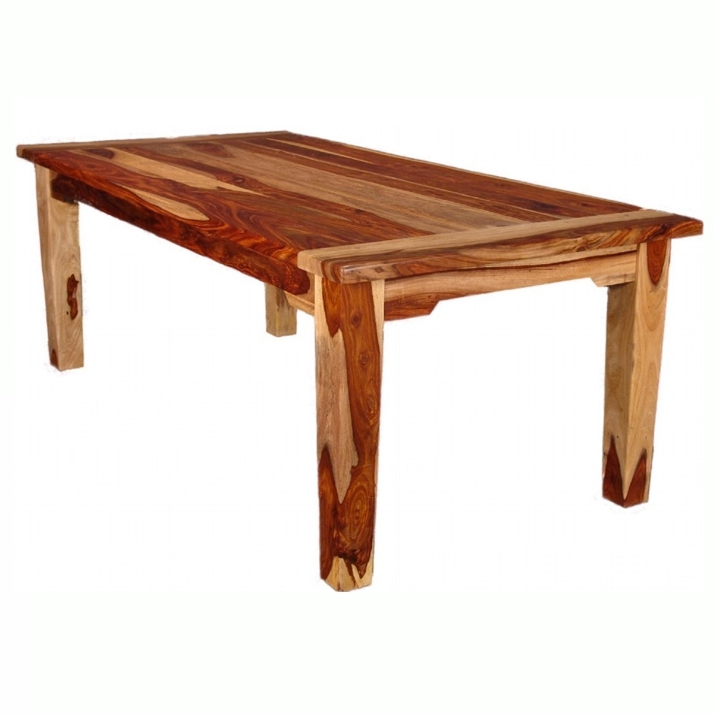 Well Known Sheesham Wood Dining Tables Regarding Sheesham Wood Dining Table – Homecrafters Furniture Mattresses (View 25 of 25)