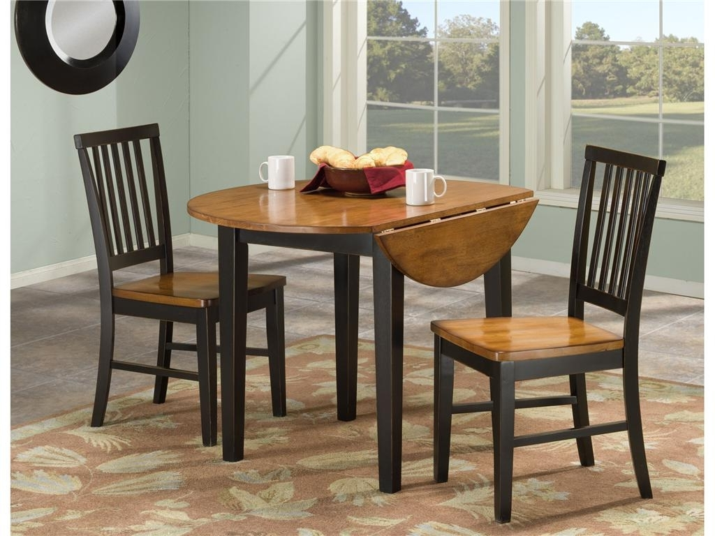 Well Known Small Round Dining Table With 4 Chairs Inside Small Round Kitchen Table With 4 Chairs • Kitchen Chairs Ideas (View 23 of 25)