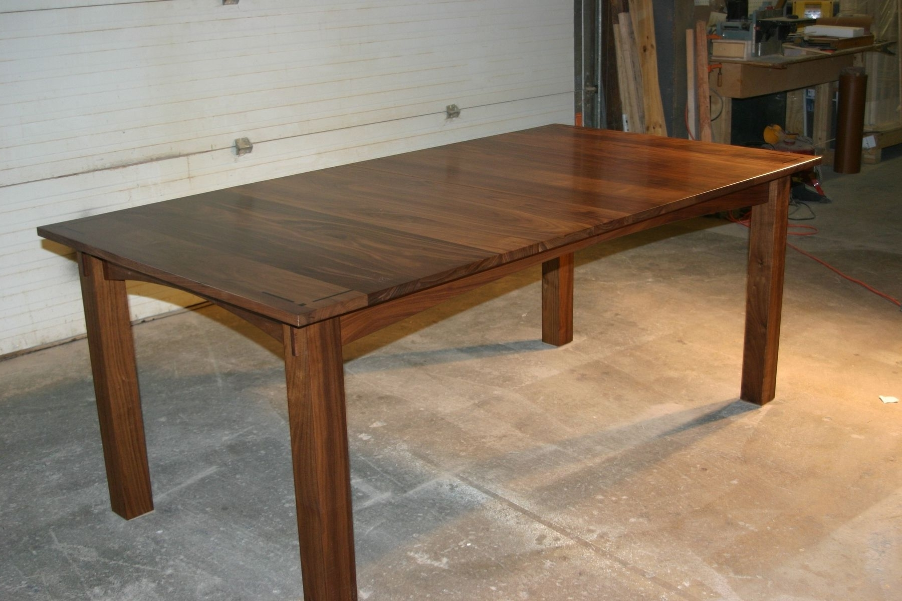 Well Known Walnut Dining Table Sets Throughout Handmade Walnut Dining Tablecanton Studio (View 24 of 25)