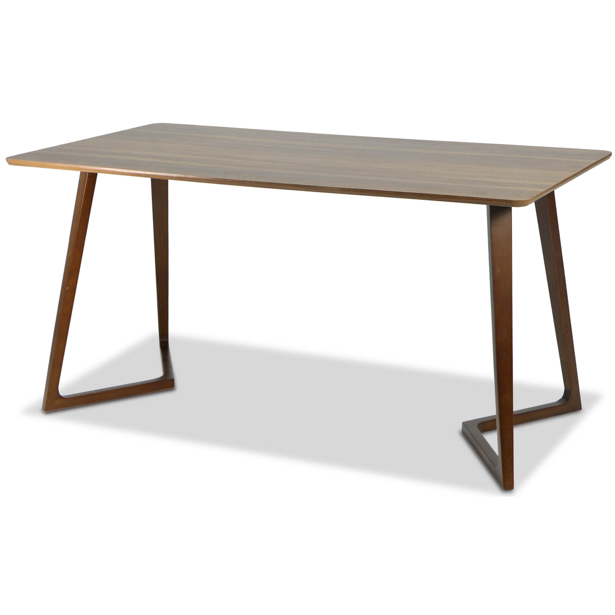 Well Known Weller Designer Wooden Dining Table (Walnut) For Wood Dining Tables (View 20 of 25)