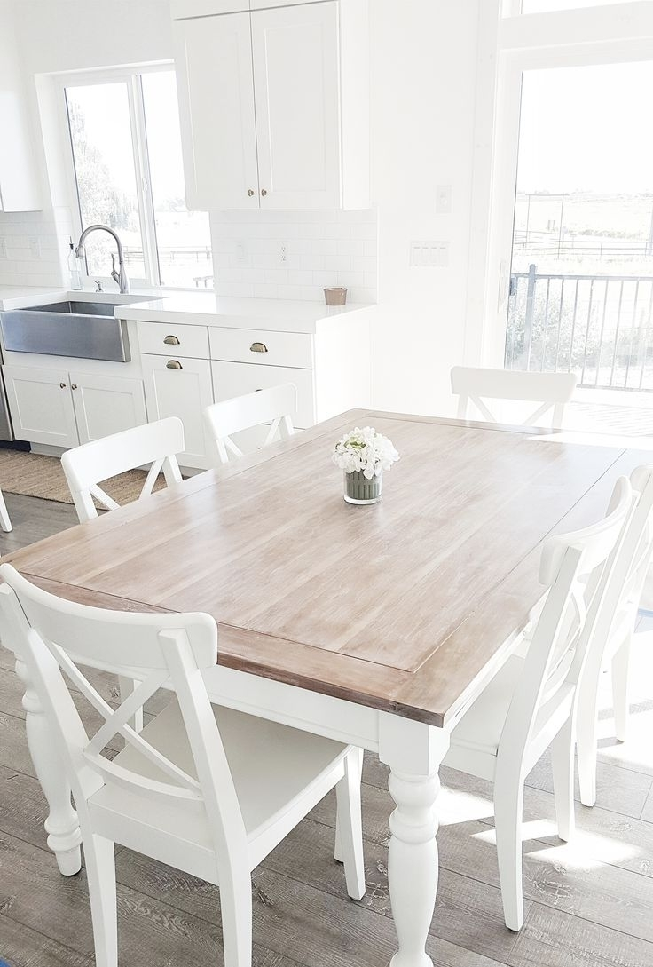 Well Known White Dining Tables And Chairs Within Era Of White Dining Table – Blogbeen (View 10 of 25)