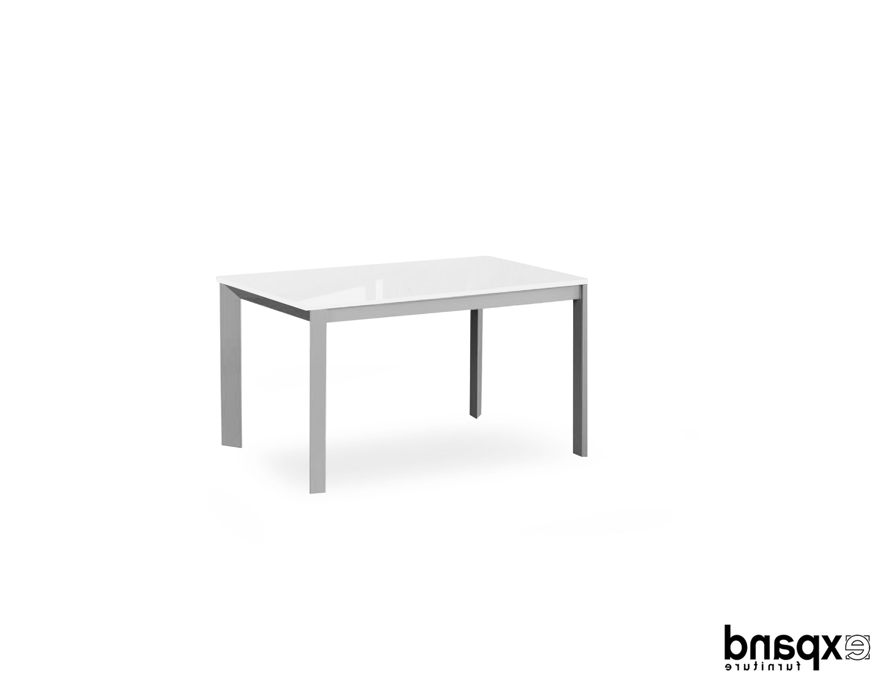 Well Known White Square Extending Dining Tables With Regard To Abode – Convertible Extending Dining Table (View 21 of 25)
